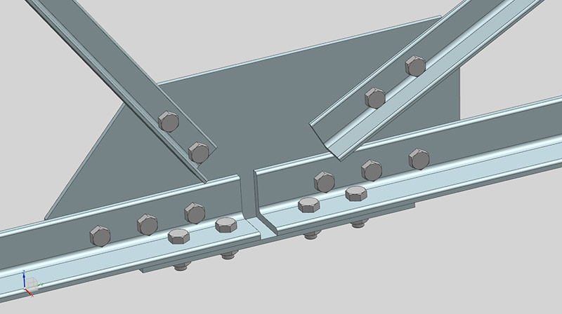 CAD model to prepare for mesh