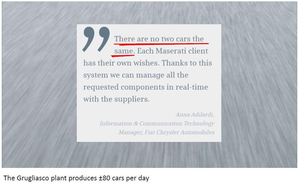 Figure 12: Build your own Maserati