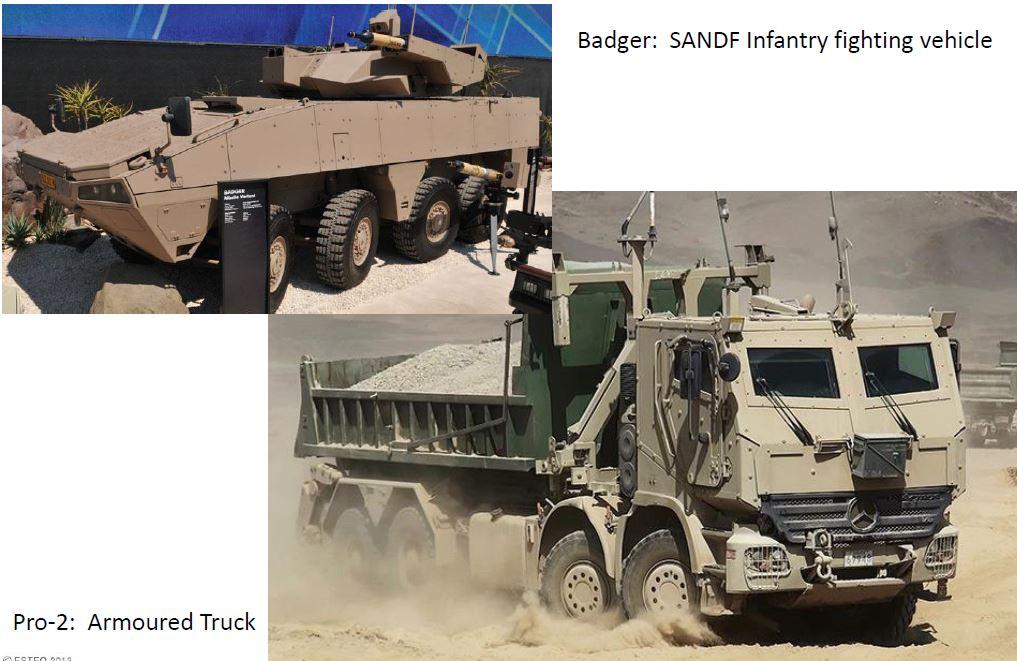 Figure 15: 8x8 Vehicles